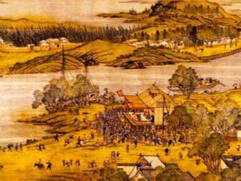 清院本清明上河图 国画欣赏 清院本清明上河图下载 中国古典动漫